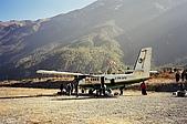 Trekking in Nepal, Dec 2003:Alas! Safe and sound at Manang airstrip