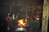 Trekking in Nepal, Dec 2003:In the kitchen of the monastery-1
