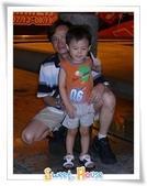 960721 夜遊老虎城:擋到後面的噴水柱了啦!