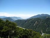 980801清境農場:清境民生果園民宿窗外景色
