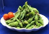 小菜類:調味毛豆莢