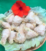 附菜:小蝦餅