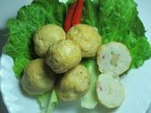 丸類+羹類+冷凍蔬菜:炸干貝丸