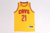 NBA球衣 騎士隊:騎士隊21號WIGGINS 黃色.jpg