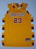 NBA球衣 騎士隊:騎士隊23號james 復古 黃色.jpg