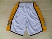 NBA球衣 湖人隊:湖人隊 球褲 白色1.jpg