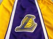 NBA球衣 湖人隊:湖人隊 球褲 黃色2.jpg