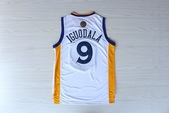 NBA球衣 勇士隊:勇士隊9號IGUODALA 白色1.jpg