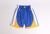 NBA球衣 勇士隊:勇士隊 球褲 藍色.jpg