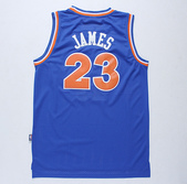 NBA球衣 騎士隊:騎士隊23號JAMES 復古 藍色1.jpg