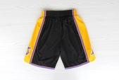 NBA球衣 湖人隊:湖人隊 球褲 好萊塢之夜 黑色1.jpg