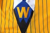 NBA球衣 勇士隊:勇士隊 球褲 黃色條紋2.jpg