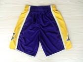 NBA球衣 湖人隊:湖人隊 球褲 紫色1.jpg