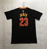 NBA球衣 騎士隊:騎士隊23號JAMES 半袖 黑色1.jpg