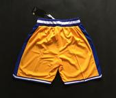 NBA球衣 勇士隊:勇士隊 球褲 復古城市版 黃色1.jpg