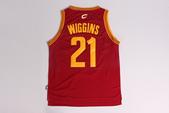 NBA球衣 騎士隊:騎士隊21號WIGGINS 紅色1.jpg