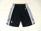 NBA球衣 馬刺隊:馬刺隊 球褲 黑色.jpg