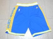 NBA球衣 勇士隊:勇士隊 球褲 復古城市版 藍色.jpg