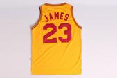NBA球衣 騎士隊:騎士隊23號JAMES 復古大刀 黃色1.jpg