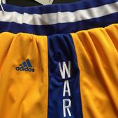 NBA球衣 勇士隊:勇士隊 球褲 復古城市版 黃色2.jpg