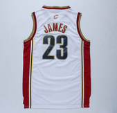 NBA球衣 騎士隊:騎士隊23號james 復古 白色1.jpg