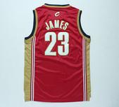 NBA球衣 騎士隊:騎士隊23號james 復古 紅金色1.jpg
