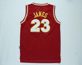 NBA球衣 騎士隊:騎士隊23號JAMES 復古 紅色1.jpg
