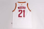NBA球衣 騎士隊:騎士隊21號WIGGINS 白色1.jpg