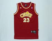 NBA球衣 騎士隊:騎士隊23號JAMES 復古 紅色.jpg