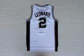 NBA球衣 馬刺隊:馬刺隊2號LEONARD 白色1.jpg