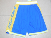 NBA球衣 勇士隊:勇士隊 球褲 復古城市版 藍色1.jpg