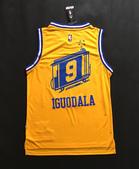 NBA球衣 勇士隊:勇士隊9號IGUODALA 復古 城市版 黃色1.jpg