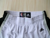 NBA球衣 馬刺隊:馬刺隊 球褲 白色2.jpg