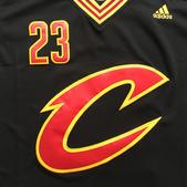 NBA球衣 騎士隊:騎士隊23號JAMES 半袖 黑色2.jpg