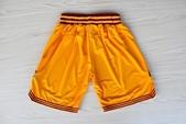 NBA球衣 騎士隊:騎士隊 球褲 黃色1.jpg