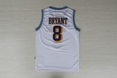 NBA球衣 湖人隊:湖人隊8號KOBE 復古 白色1.jpg