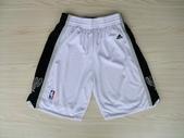 NBA球衣 馬刺隊:馬刺隊 球褲 白色.jpg