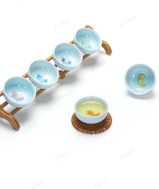 【自在坊】組合式杯架 單層組合式茶杯展示架 茶杯收納架 簡易收納架 茶具 茶道用具  【全館滿599免運】