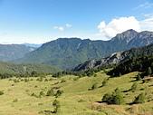 巨人的腳印~黑色奇萊...:奇萊北峰~山腳下的一對水窟...