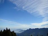 金柑樹山:杉林溪之龍鳳峽...俯瞰 鳳凰山稜線及中央山脈