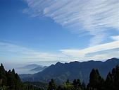 金柑樹山: 杉林溪之龍鳳峽...俯瞰 鳳凰山稜線及中央山脈