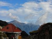 巨人的腳印~黑色奇萊...:風起雲湧...奇萊主峰