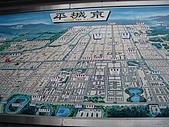 2008關西春櫻D4:車站前的平城京地圖