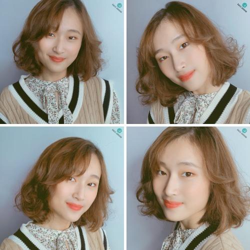 2020短髮燙髮染髮:輕柔感19歲女孩 - 2020短髮燙髮染髮:輕柔感19歲女孩