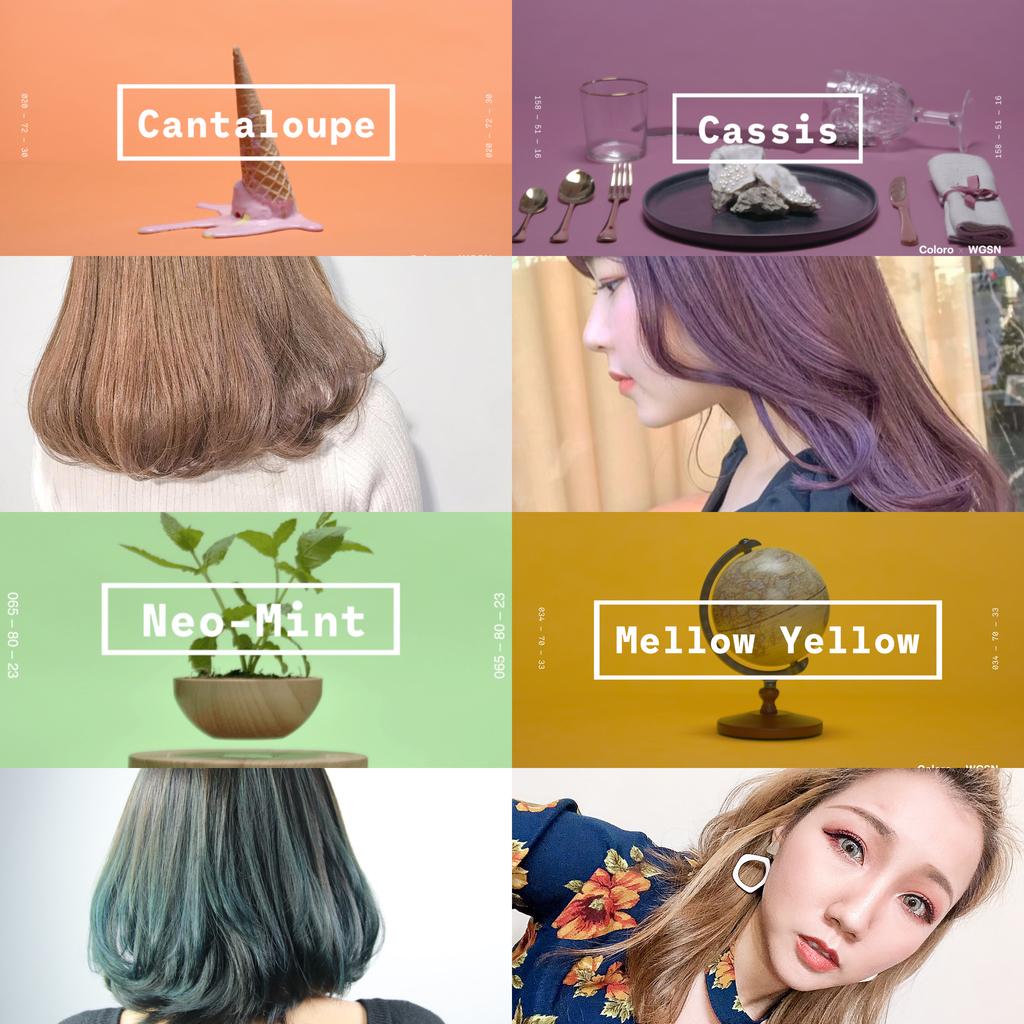 2020流行色:Neo Mint熱將襲捲全球:2020流行色:髮型流行色彩