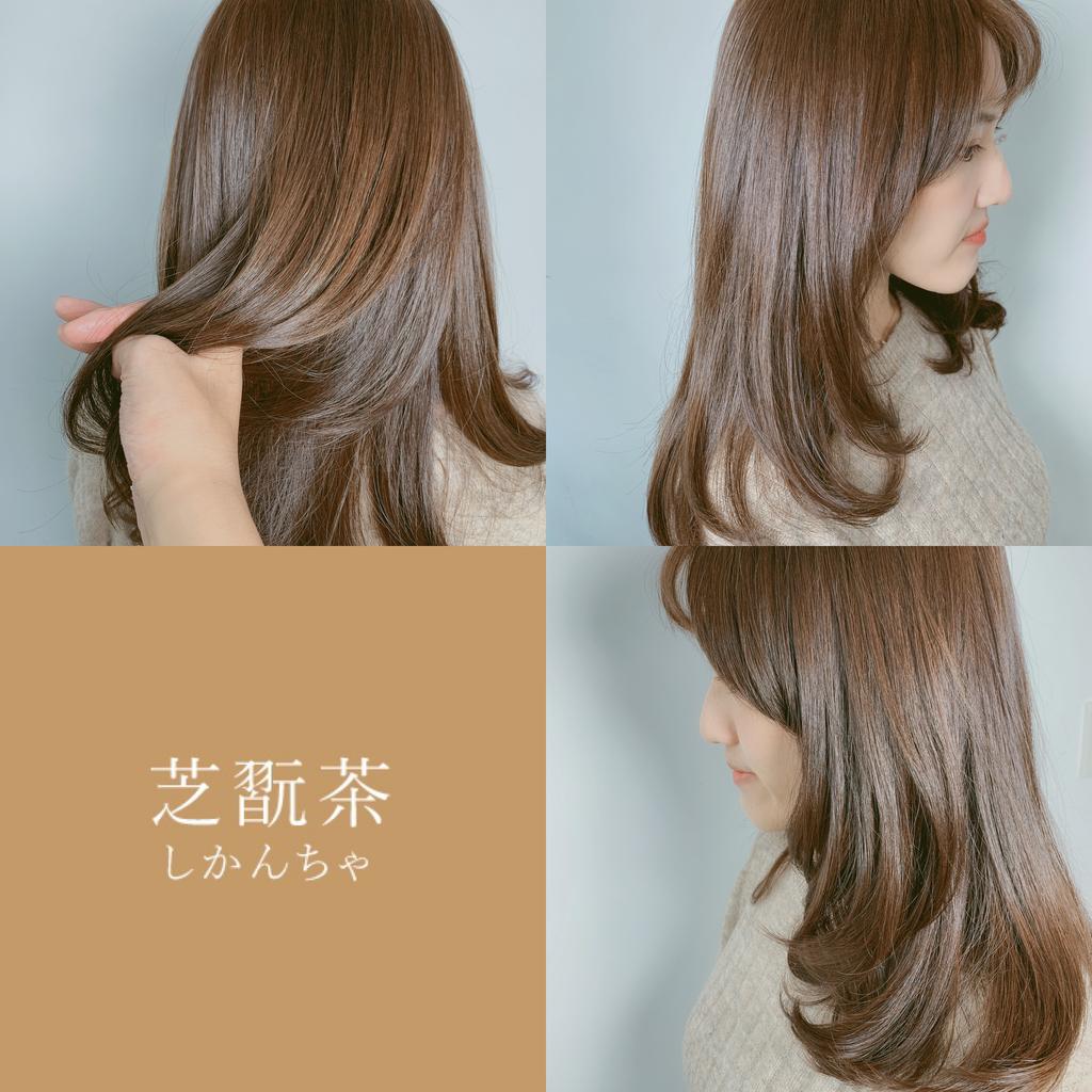 士林染髮奶茶棕:Nomad Hair - 女孩來染髮:奶茶棕就是芝翫茶色啦~
