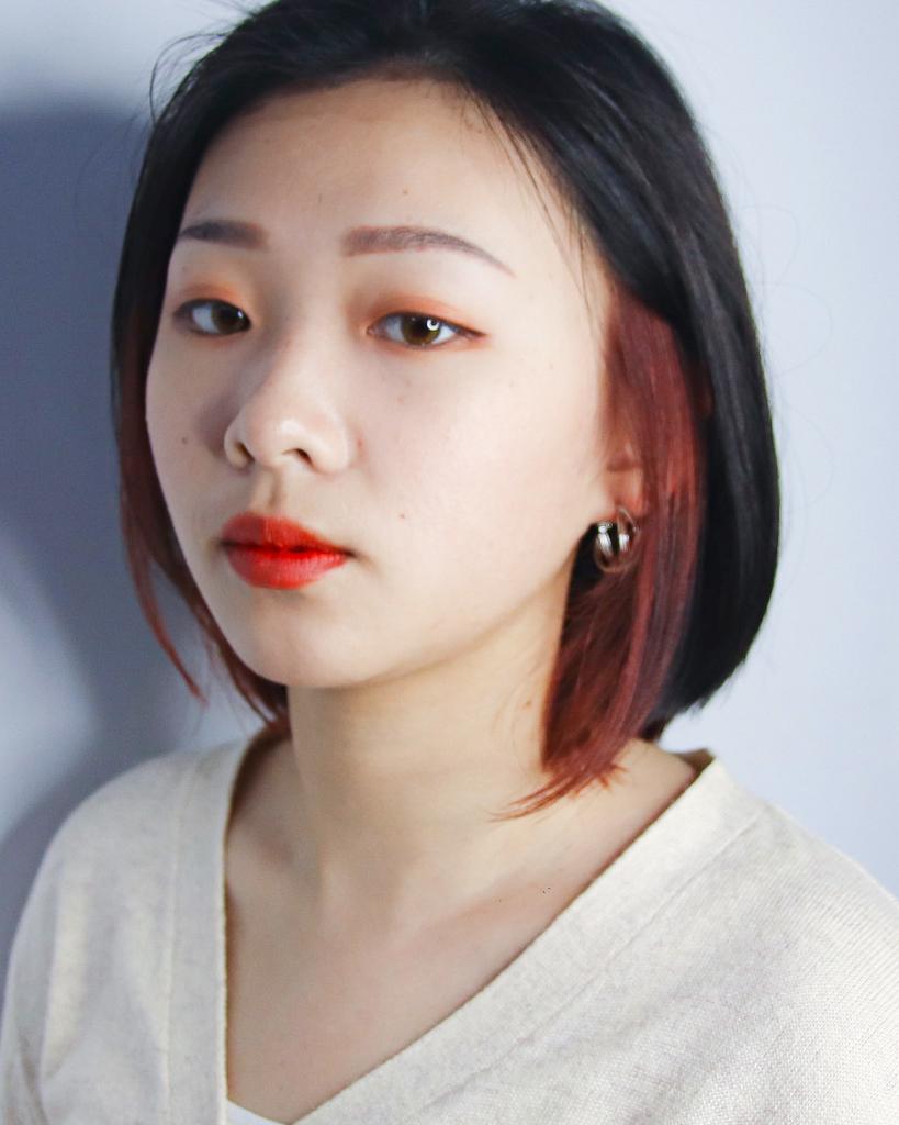 士林染髮:耳圈染、漸層染、短髮染髮設計 - 士林染髮:耳圈染、漸層染、短髮染髮設計